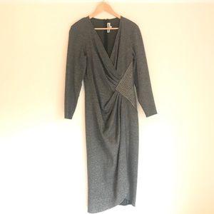 Vintage Grey Louviere Studded Dress